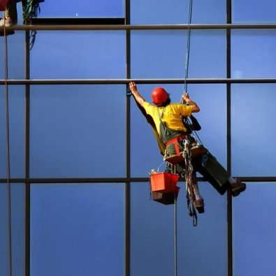 high level window cleaning
