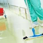 hospital cleaning square