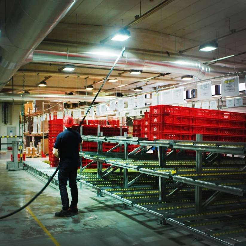 High Level Cleaning And High Level Industrial Cleaning By