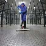 industrial deep clean