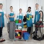 Sentrex Services Cleaning team