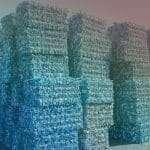 bottle recycling slide