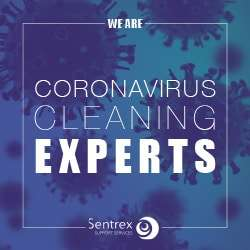 What type of cleaning is needed for coronavirus infection?