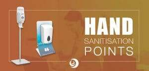 Hand Sanitiser Stations