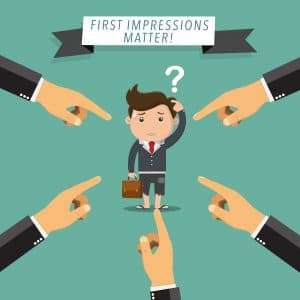 first impressions matter