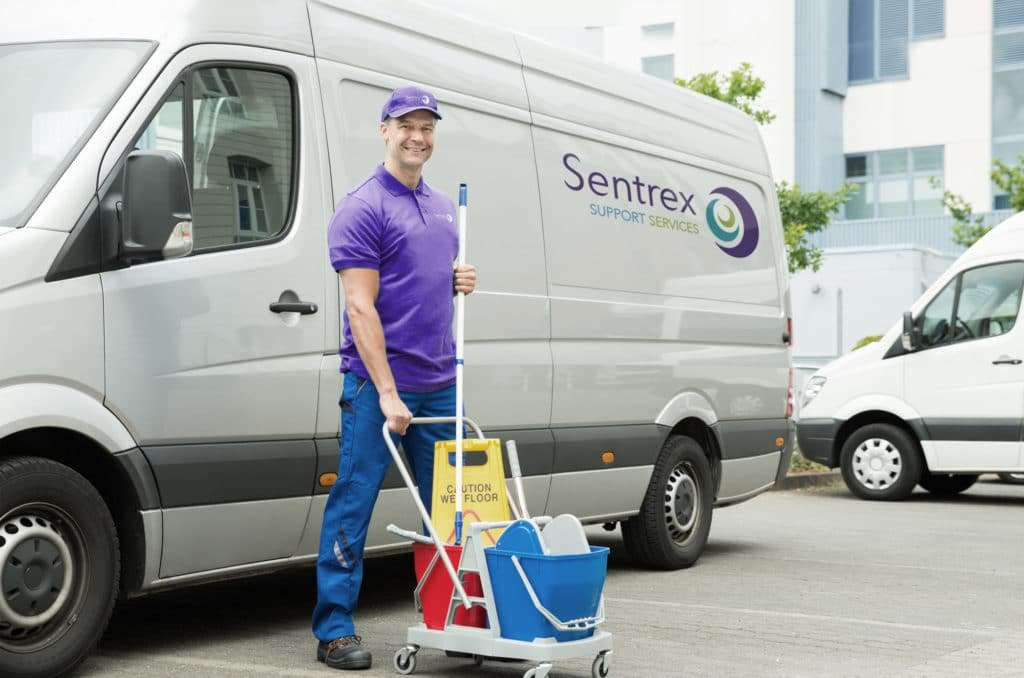 sentrex commercial cleaning